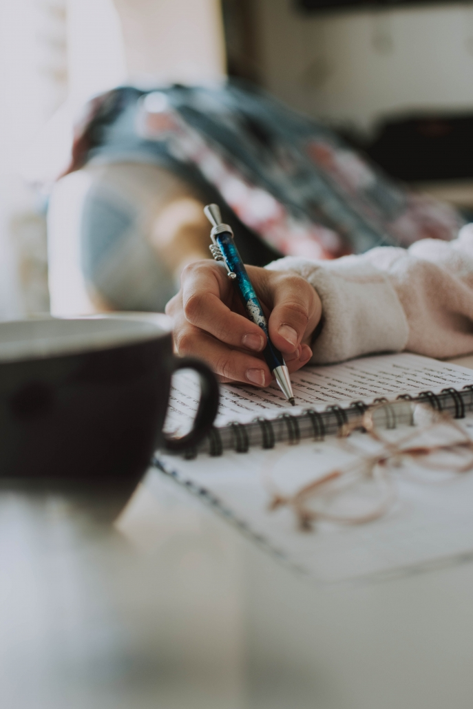 Coping by thought journalling