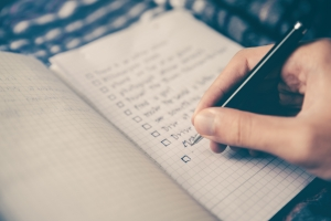 Coping Heathily: To-do List